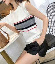 Load image into Gallery viewer, HERMA STRIPE KNIT TOP