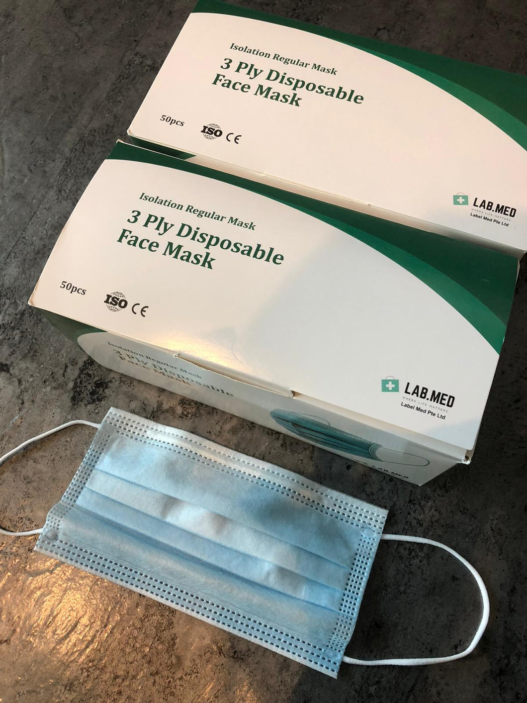 [PRE-ORDER] LAB.MED 3 PLY SURGICAL FACE MASK (50PCS /BOX)