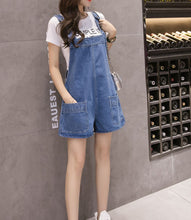 Load image into Gallery viewer, LOW POCKET DENIM PLAYSUIT