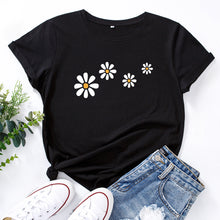 Load image into Gallery viewer, SUNSHINE DAISIES PRINTED TEE