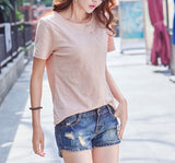 THREE BUTTON DOWN TEE