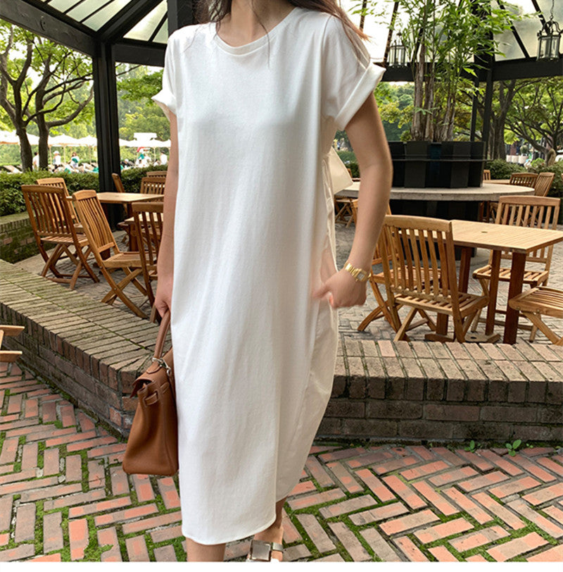 TEE SHIRT TIE BACK DRESS