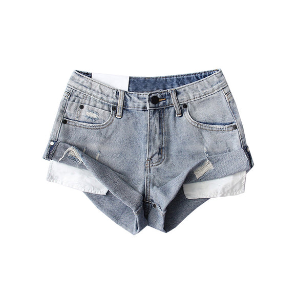 BERNICE DENIM SHORTS