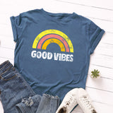GOOD VIBES PRINTED TEE