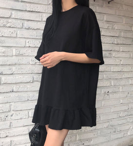 JESSIE BABYDOLL SHIRT DRESS