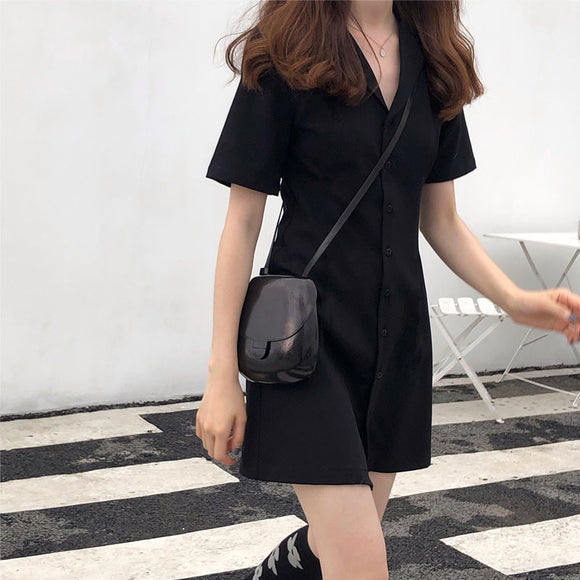 VEST LIKE SLIM CUT DRESS