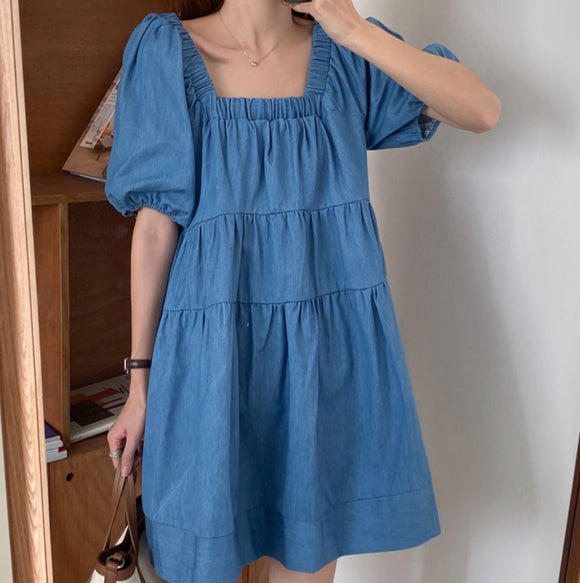 KELLY DENIM DRESS