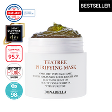 Load image into Gallery viewer, [READY-STOCK] BONABELLA TEA TREE PURIFYING MASK (80ML)