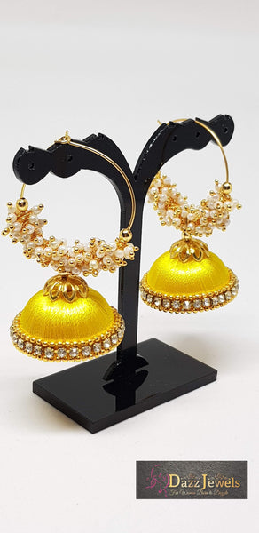 Silk Thread Jhumka 7