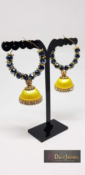 Silk Thread Jhumka 17