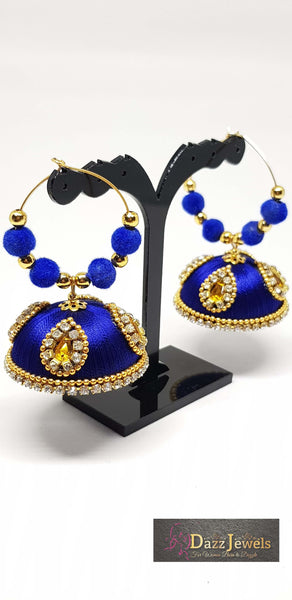 Silk Thread Jhumka 5