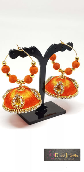 Silk Thread Jhumka 4