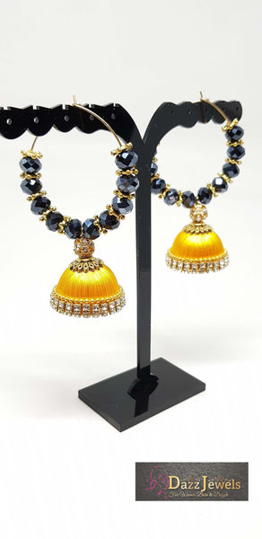 Silk Thread Jhumka 16