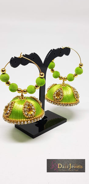 Silk Thread Jhumka 2