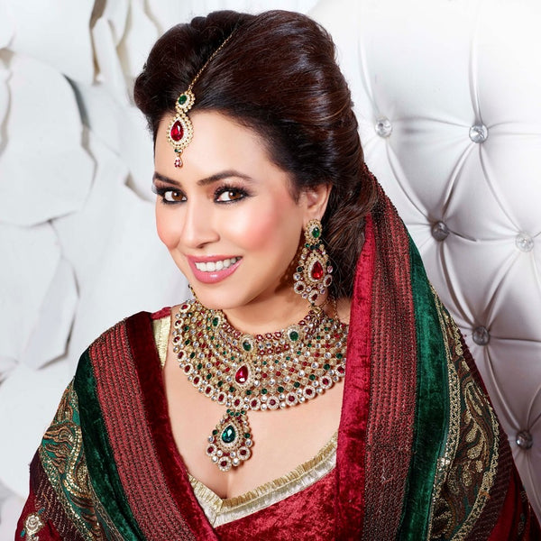 Exclusive Bridal Wedding Necklace Set