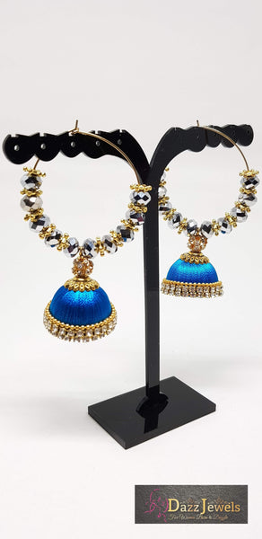 Silk Thread Jhumka 18
