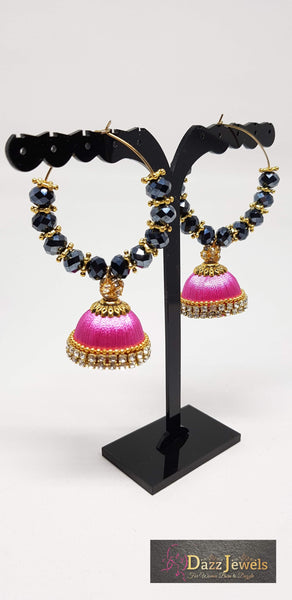 Silk Thread Jhumka 12
