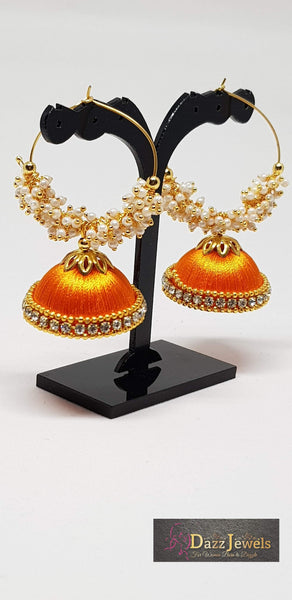 Silk Thread Jhumka 6