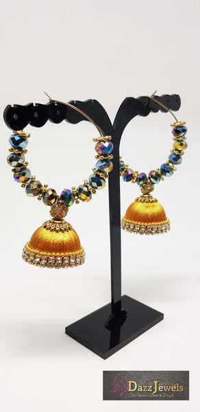 Silk Thread Jhumka 14