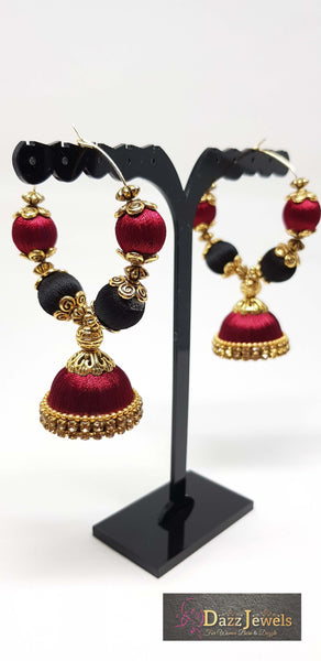 Silk Thread Jhumka 20