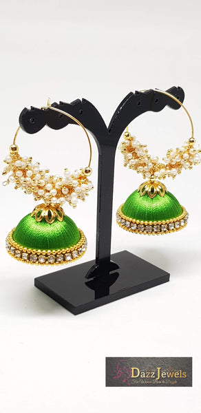 Silk Thread Jhumka 8