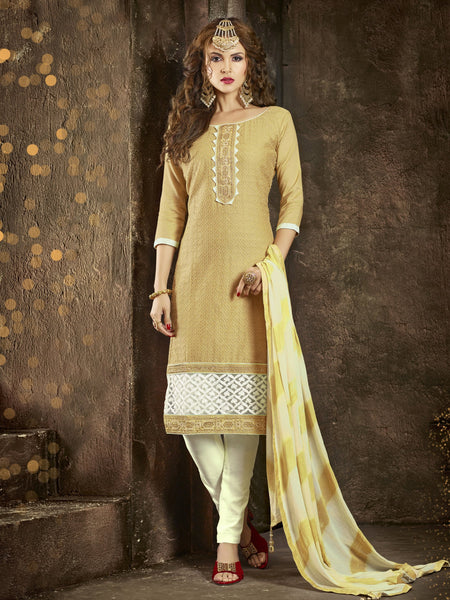 Styleez Salwar Kameez 169 All Over Resham Thread Work With Cording Work & Patch Work