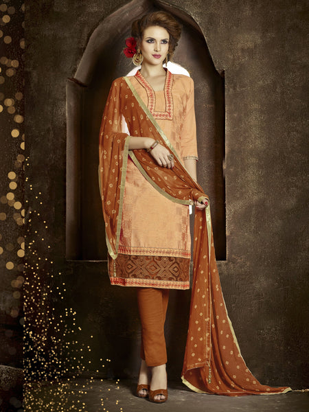 Styleez Salwar Kameez 173 All Over Resham Thread Work With Cording Work & Patch Work