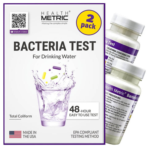 Health Metric Coliform Bacteria Test Kit