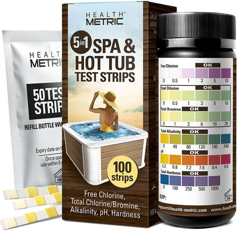 spa and hot tub test strips