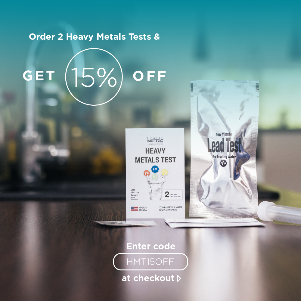 Order 2 Heavy Metals Tests & GET 15% OFF