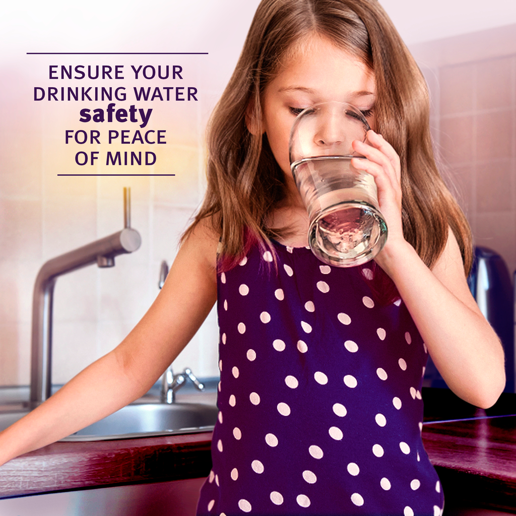 Ensure your drinking water safety for peace of mind