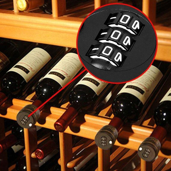 Bottle Password Lock Combination Lock Wine Stopper