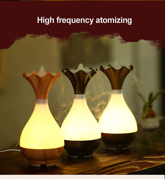 NEW Ultrasonic Flower Pot Aroma Diffuser and Humidifier