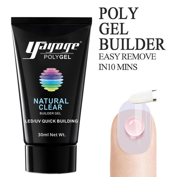 Poly Gel Nail Extension Set