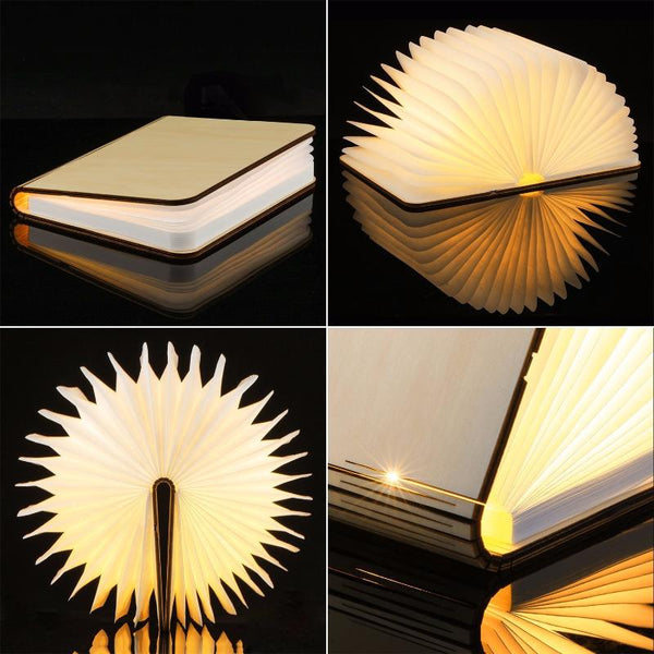 Magical Book Lamp