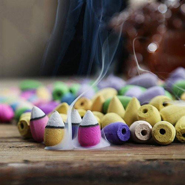 Incense - 20pcs Backflow Incense Aromatherapy Cones