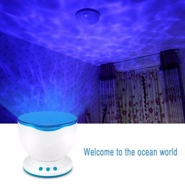 Projector - Multi Color Ocean Wave Projector With Remote