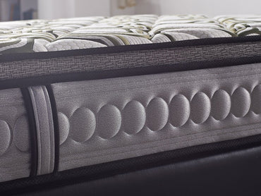 latex and memory foam mattress with individual pocket coil spring