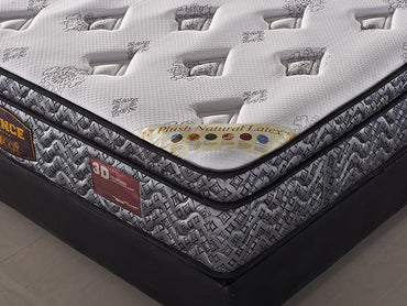 latex and memory foam mattress with individual pocket coil pring