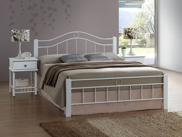 Crystal queen bed frame