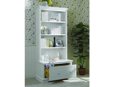 Vincia Bookcase with Toy box