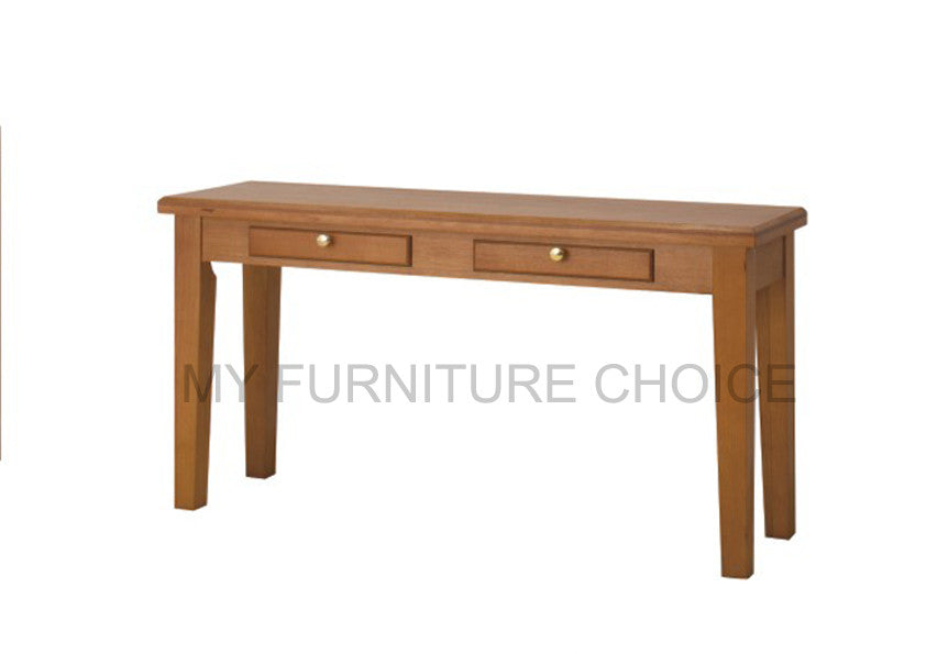 Tassie oak console table with 2 drawers my furniture choice watchthetrailerfo