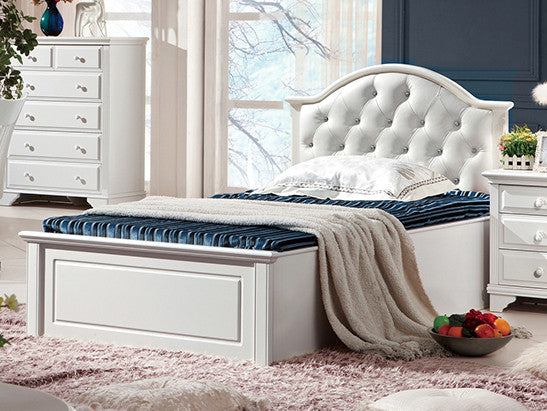 Aurora King Single Bed Frame with gas lift and bed end drawer – My ...