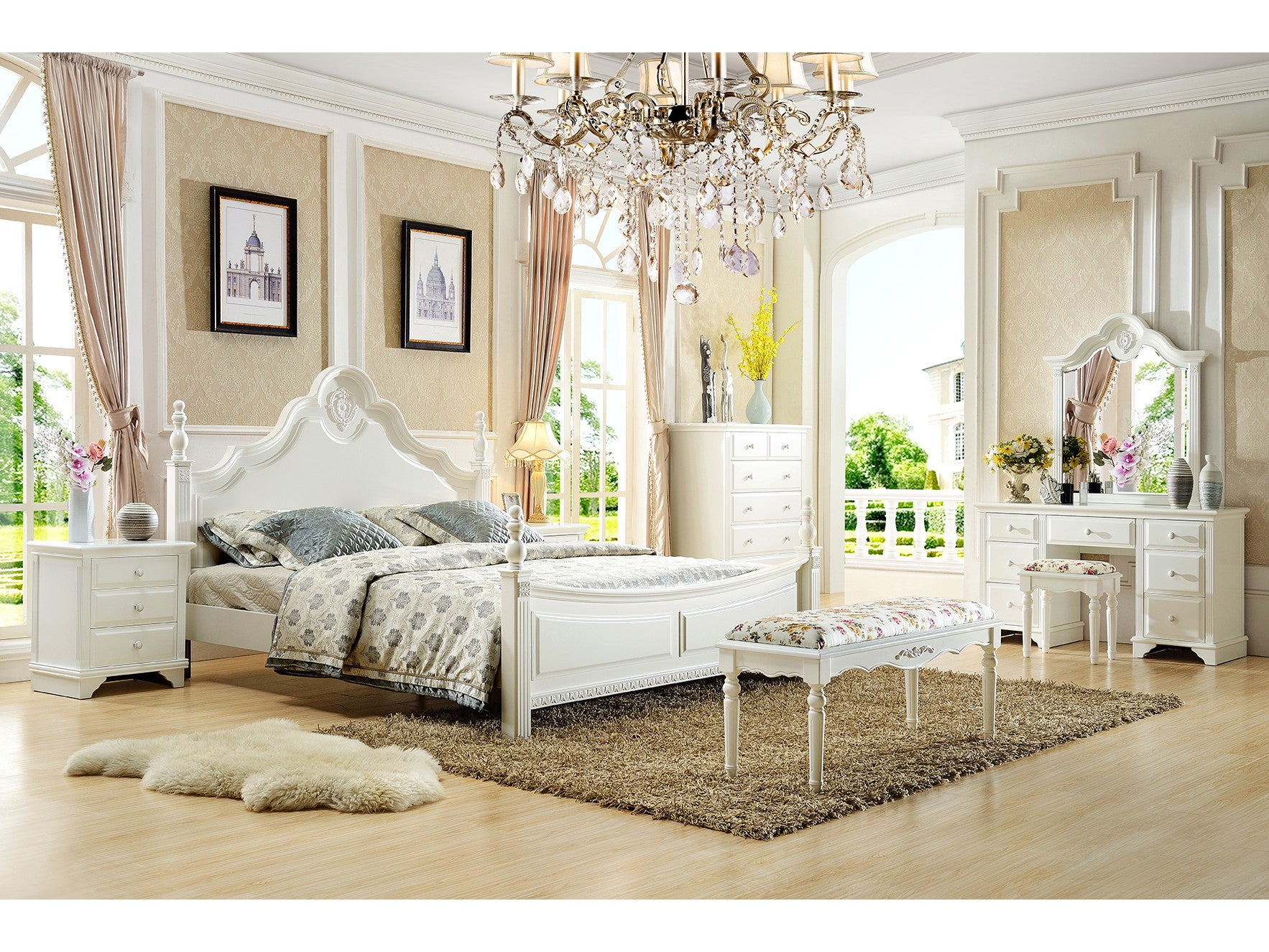 French Style Bedroom Suite