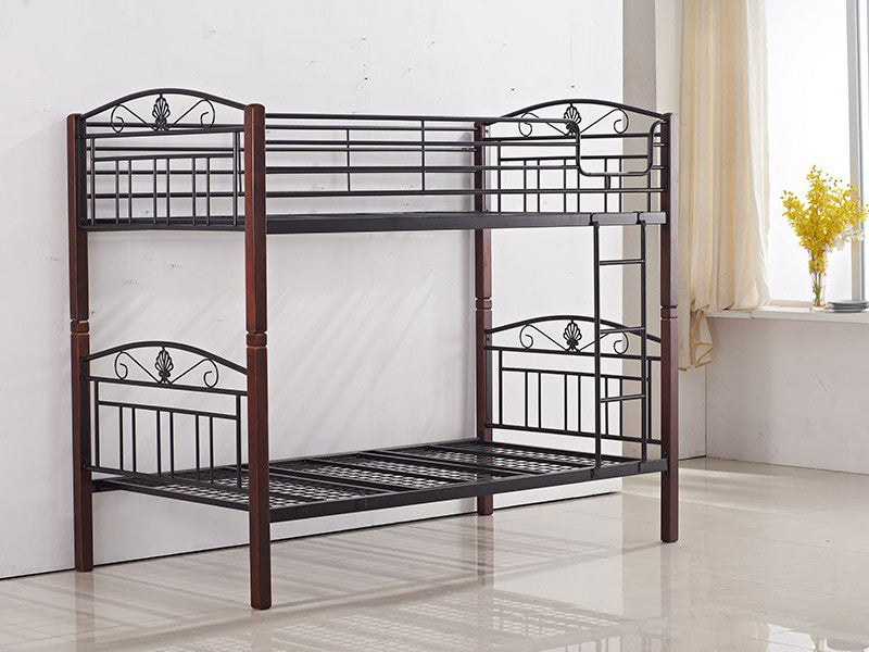 Metal And Timber Bunk Bed My Furniture Choice