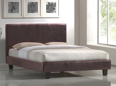 Lismore Pu Leather Queen Bed