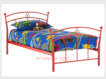 Flower Single Bed Frame