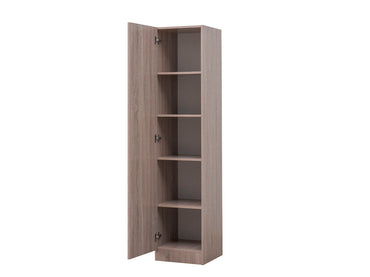Missini Small Pantry with single door in light oak colour