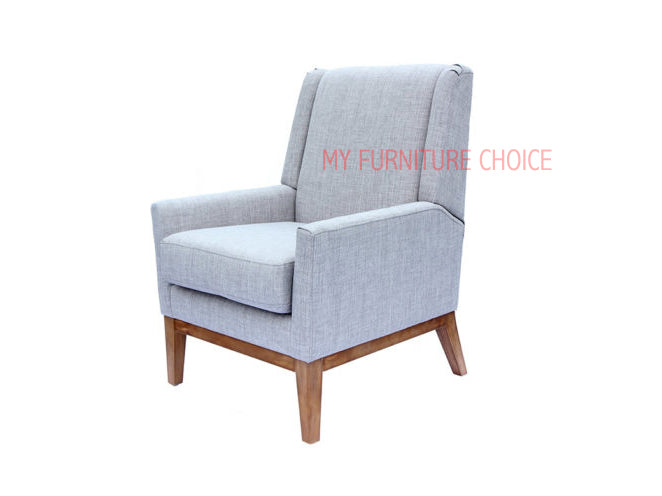 side view tub chair