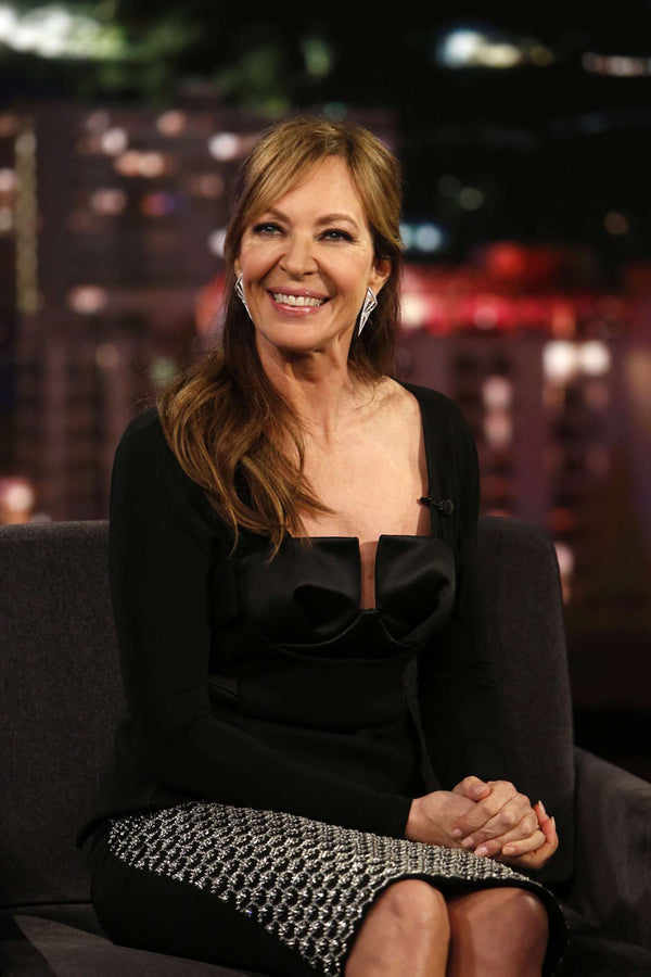 Allison Janney on Jimmy Kimmel 02.2018